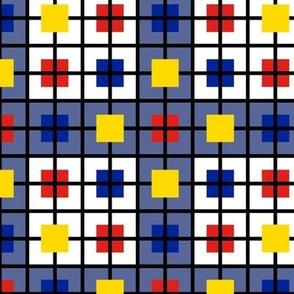 A windowpane plaid for men who like Mondrian by Su_G