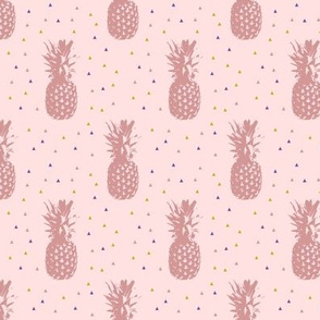 Pineapples // pink