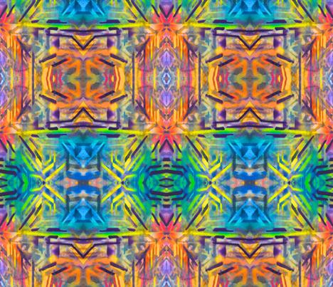 Tibetan Skies fabric by hrhsf-designs on Spoonflower - custom fabric