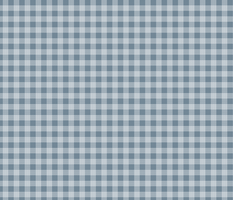 gingham mesh white on blue  fabric by glimmericks on Spoonflower - custom fabric