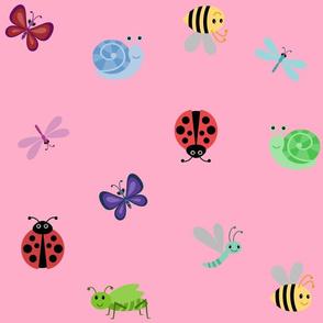 Pink Buggle Print