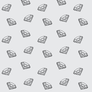 Black diamonds on lightgrey small-ch