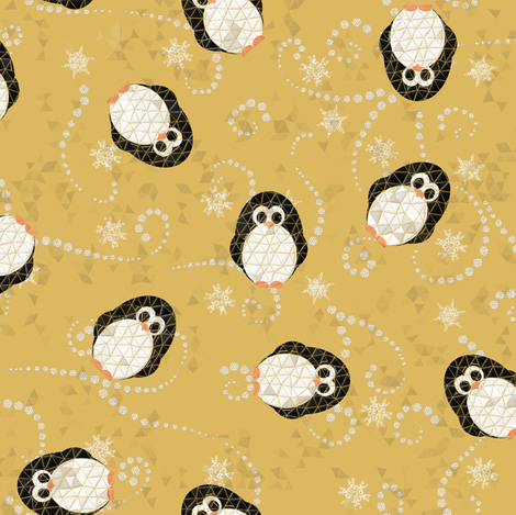 Where is the ice? fabric by un_temps_de_coton on Spoonflower - custom fabric