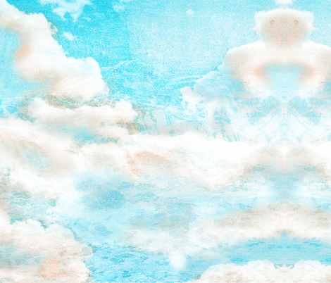 Just Clouds fabric by shortikkins on Spoonflower - custom fabric