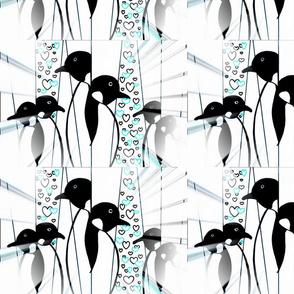 Misted Penguins