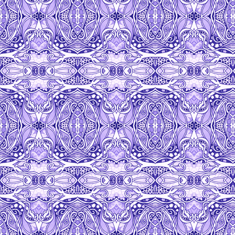 Under a Purple Sky fabric by edsel2084 on Spoonflower - custom fabric