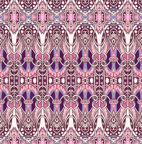 If I Could Only Visit 1911 fabric by edsel2084 on Spoonflower - custom fabric