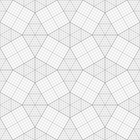 03827835 : graph S43X : grey fabric by sef on Spoonflower - custom fabric