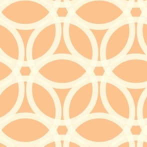 Apricot Daisy Chain (Reverse)