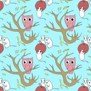 owl&mice