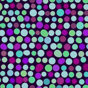 Mod Blots Dark Purples