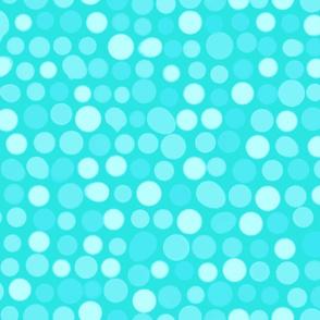 Mod Blots Pale Aqua