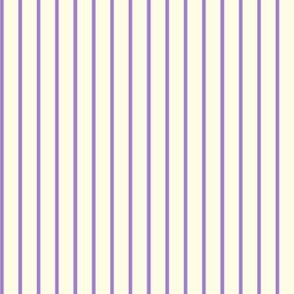 Wisteria Pinstripes