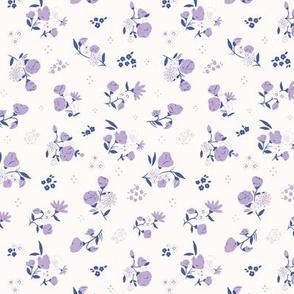 Daisy Alice Ditsy: Emerald + Lilac