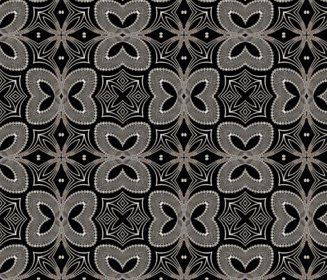 deco jewels 10 fabric by kociara on Spoonflower - custom fabric