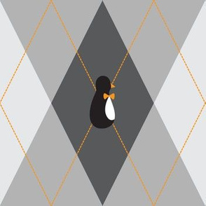 the preppy penguin