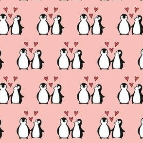 Penguins in Love - Small