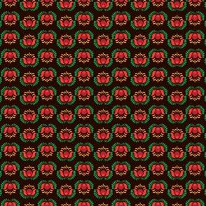 Folk Flowers Pattern 2