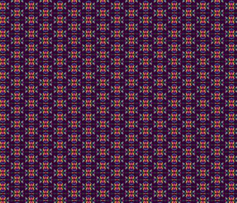 Folk Flowers Pattern 4 fabric by juliematthews on Spoonflower - custom fabric