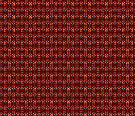 Folk Flowers Pattern 5 fabric by juliematthews on Spoonflower - custom fabric