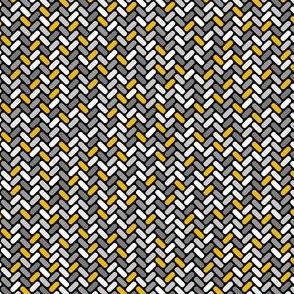 Gray and Gold Weave