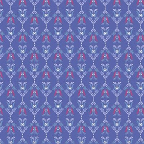 Folk Flowers Pattern 5 - Winter