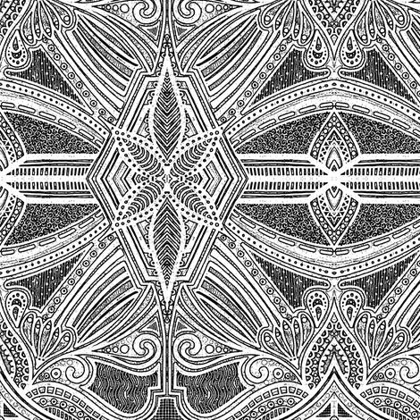 Rita - Photocopy fabric by siya on Spoonflower - custom fabric