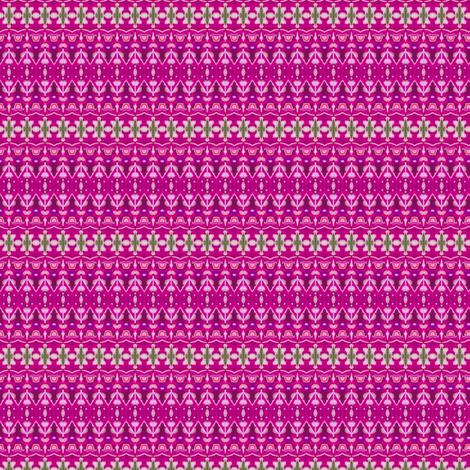 Brivec Complex Stripe - Fuchsia fabric by siya on Spoonflower - custom fabric