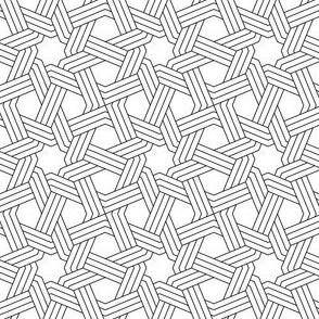 octagonal star weave in 3