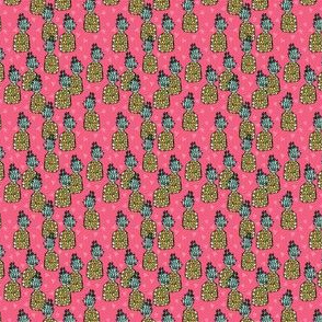 pineapple // pink pineapple pineapples summer tropical pink sweet fruits