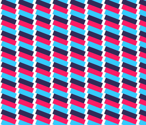 Envelop Stripe fabric by pennydog on Spoonflower - custom fabric