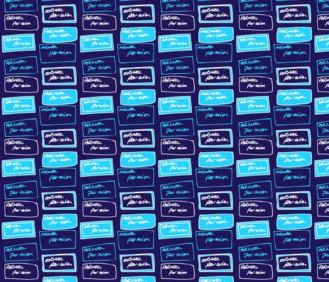 Envelop Labels fabric by pennydog on Spoonflower - custom fabric