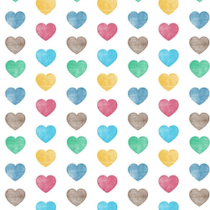 Wood Hearts
