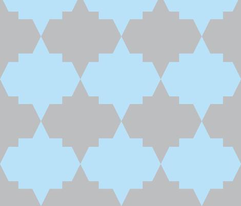Modern Aztec Quatrefoil fabric by arm_pillozzz on Spoonflower - custom fabric