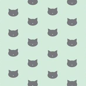 Cats, mint