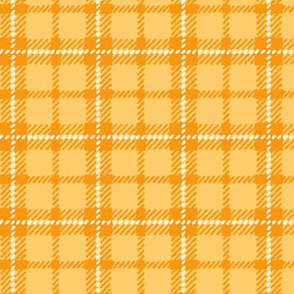 Light Orange Plaid