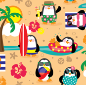 Penguins In Paradise