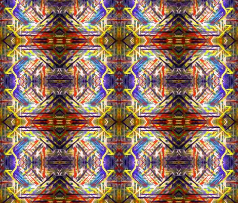 Mojave Cubism  fabric by hrhsf-designs on Spoonflower - custom fabric