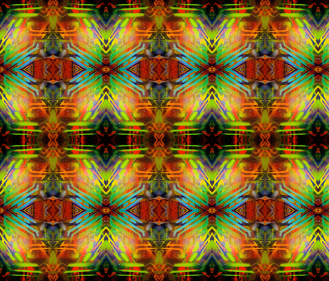 Tiki Tiki fabric by hrhsf-designs on Spoonflower - custom fabric
