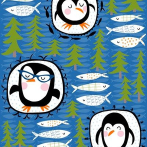 penguin portraits!