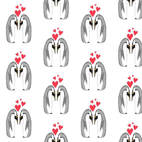 Penguin Lovers by Debbie Porter - Designs of an Eclectique Heart