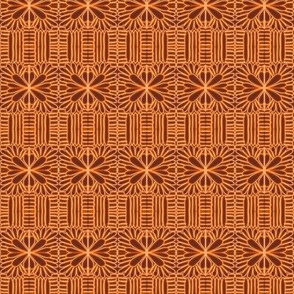 Crochet Lace Orange