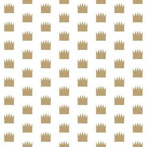 glitter crown - 1 inch