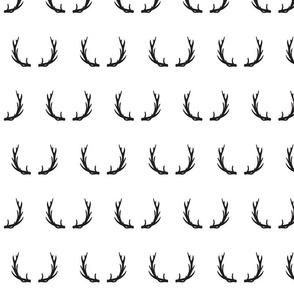 antlers // black - Little Adventurer