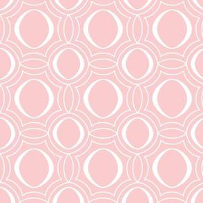 Parasol - Modern Geometric Pink