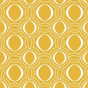 Parasol - Modern Geometric Yellow Gold