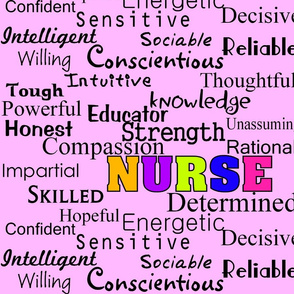 Nurse Describing Words-ed