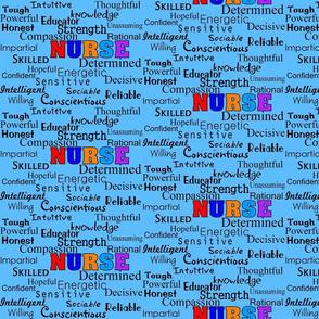 Nurse Describing Words-ed
