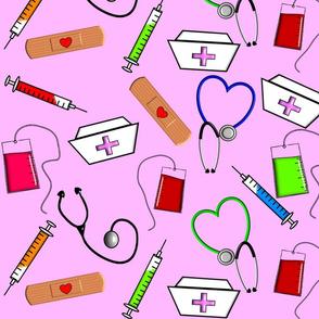 Nurse Theme in Pink