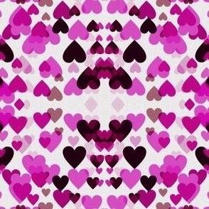 Tiny raining hearts